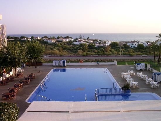 Hotel Club Sur Menorca: View from balcony
