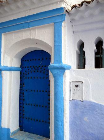 Casa La Palma: Puerta típica