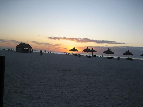 The Charter Club of Marco Beach: Marco Island sunset
