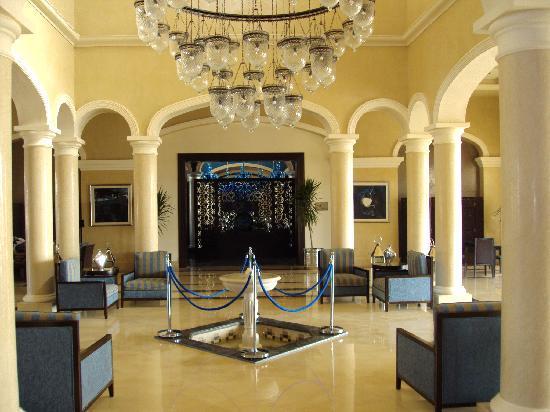 Jaz Aquamarine Resort: reception