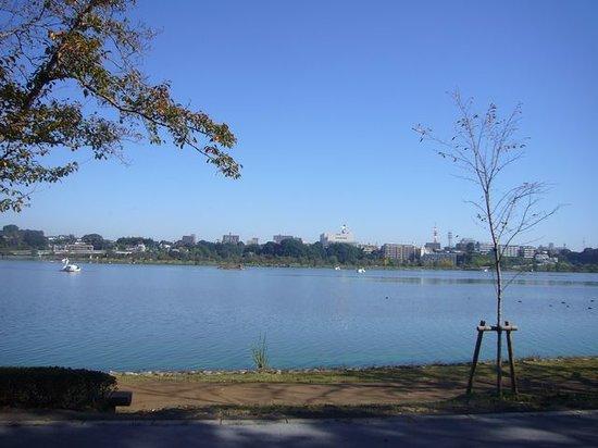 Mito, اليابان: 対岸のビルも絵になる
