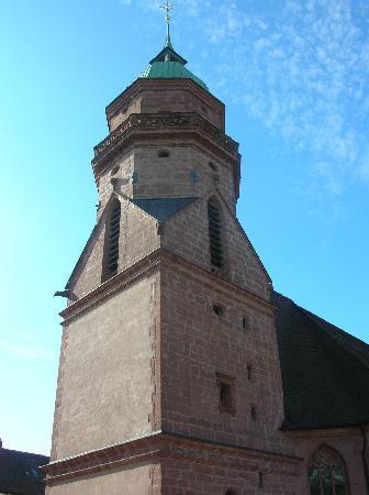 Prachtsturm der evang. Kirche Freudenstadt