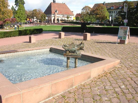 Hübscher Brunnen in Freudenstadt