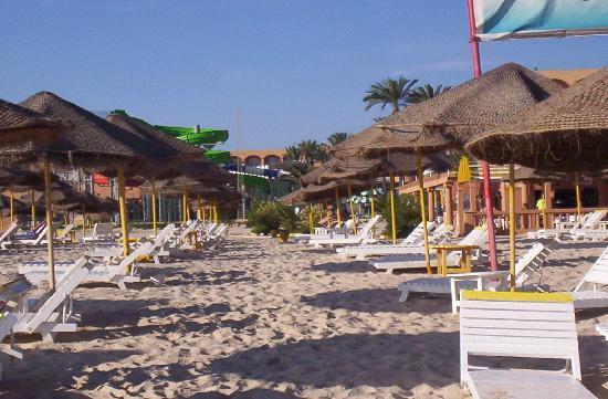 Le Marabout Hotel : la plage