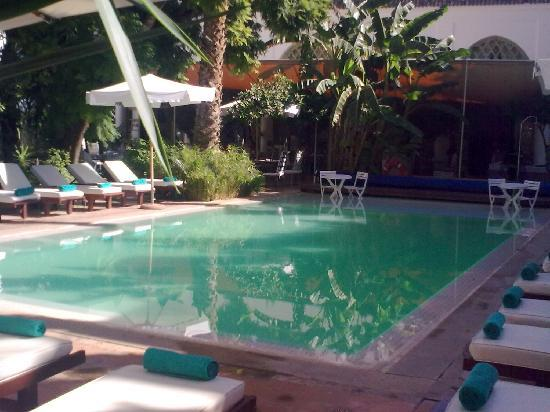 Les Jardins de la Medina : piscine