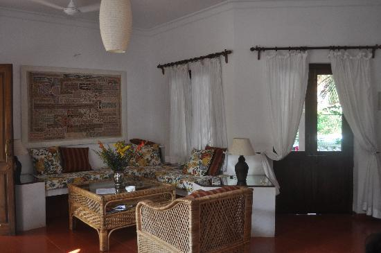 Casa Mia, Goa : Living room