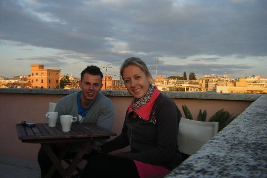 Ganymedes Palace: Tea on the terrace