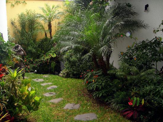 Hotel Monte Real: the garden