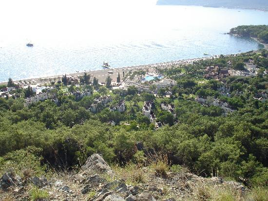 Club Med Palmiye: Power Walk view of the village!