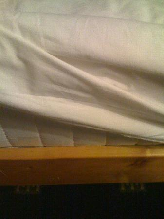 Sandaig Guest House: No springs for a mattress though...