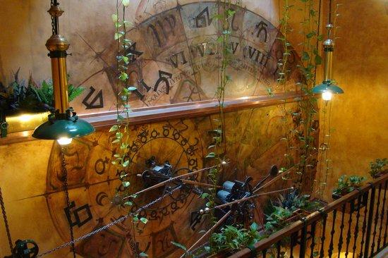 Hotel U Jezulatka: Stairway