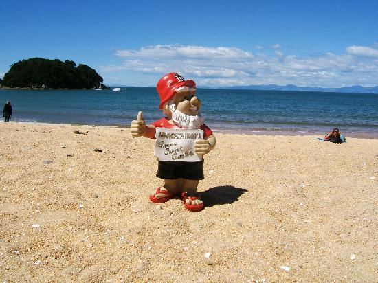 Motueka TOP 10 Holiday Park: Kaiteriteri beach