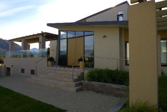 Tiritiri Lodge: Lodge Eingang