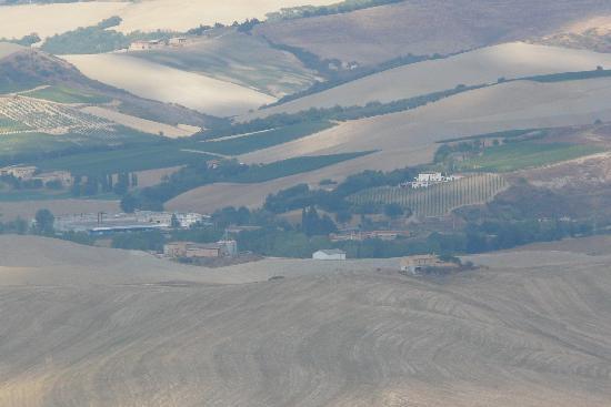 Torrita di Siena, Italy: Vue de la salle à manger