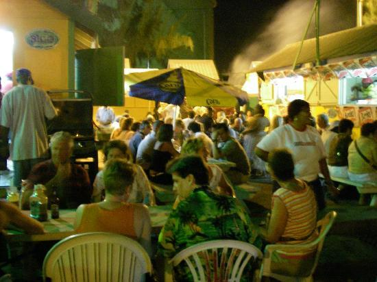 Oistins friday night fish fry picture of barbados for Friday night fish fry near me
