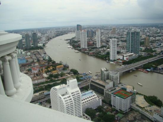 Bangkok, Tailandia: vistas desde el balcón