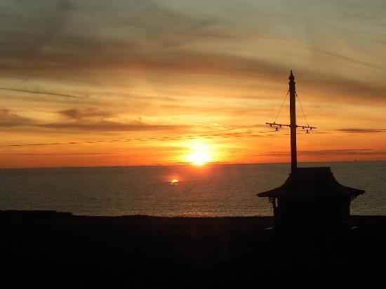 Brioni Hotel: Sun set