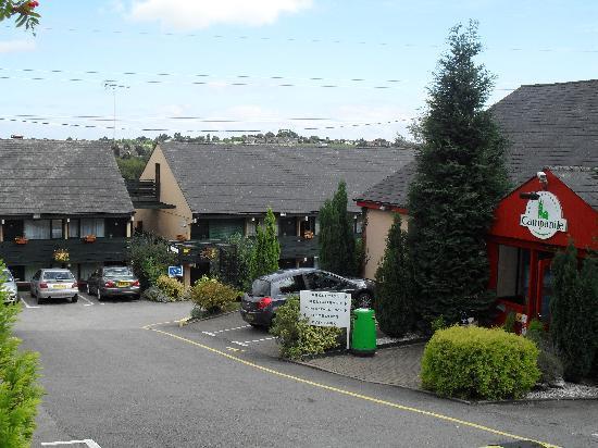 Campanile Hotel Cardiff: hotel entrance