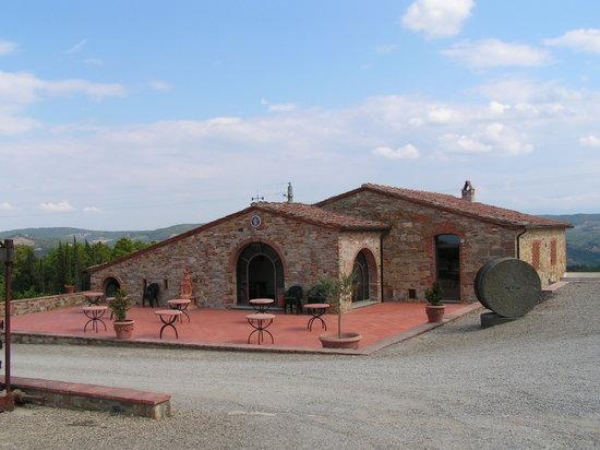 San Donato in Poggio, Italia: Fattoria di Montecchio