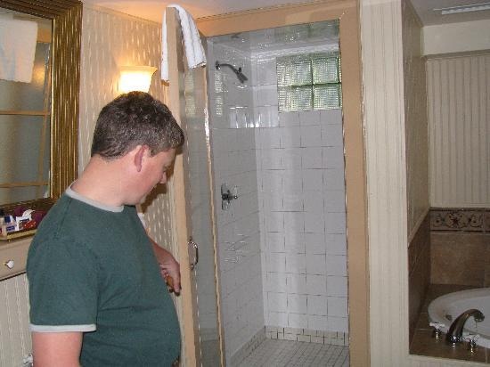 The Halliburton: The 2 person shower stall