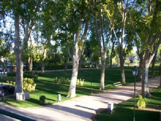Estalagem Santa Iria: view from balcony