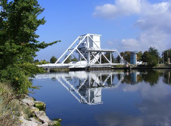 Ranville, France: Pegasus Bridge, Basse-Normandie, Normandy, France