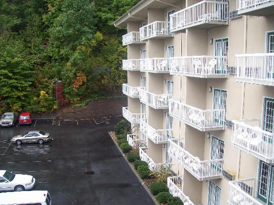 Comfort Inn & Suites at Dollywood Lane: view from our room