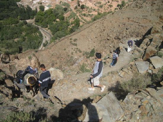 Berber Travel Adventures : Some rough terrain at times
