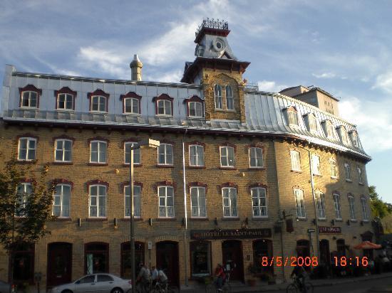 Hotel Le Saint-Paul: The Hotel