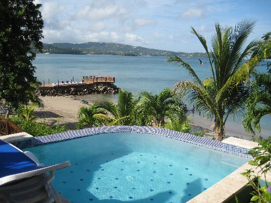 Calabash Cove Resort and Spa: view from our cottage