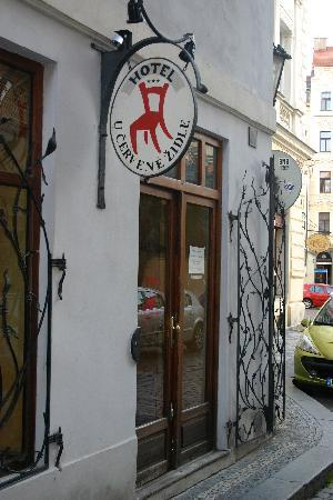 Red Chair Hotel Entrance