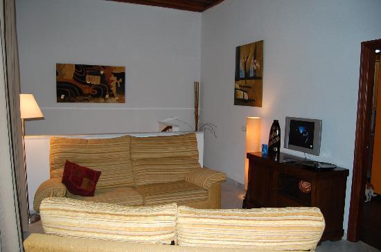 La Casa del Pozo Santo: sala de estar