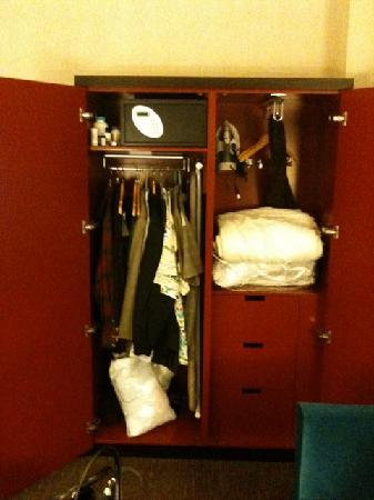 theWit - A DoubleTree by Hilton: the inside of the closet