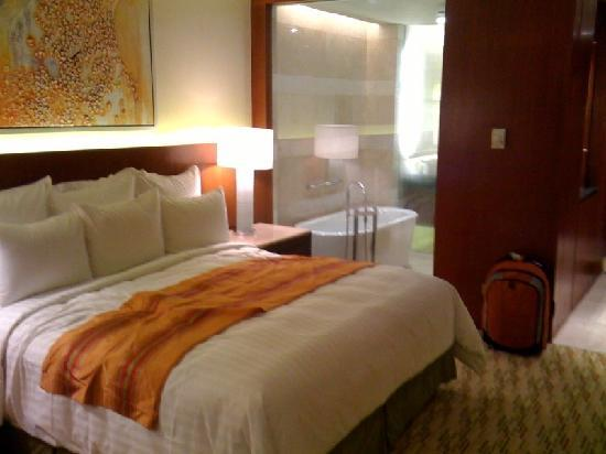 Manila Marriott Hotel: Picture of standard room