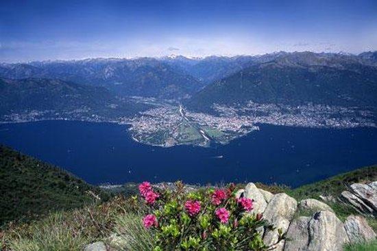 Λίμνη Ματζιόρε, Ελβετία: Lago Maggiore Svizzera
