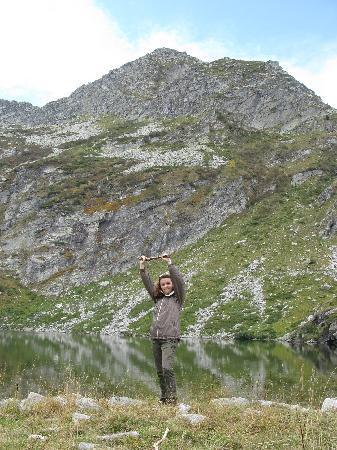Piedicavallo, Италия: Me and Lago della Vecchia :)