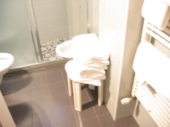 Club Meeting Hotel: sgabello per asciugamani