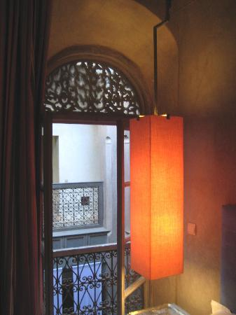 Riad Dar One: A window in our room