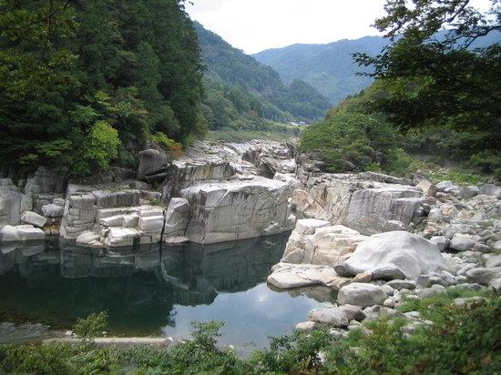 Agematsu-machi, Ιαπωνία: 雄大な自然美