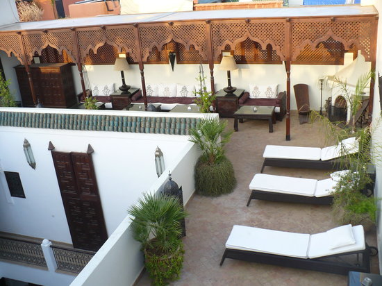 Riad Assakina: one of the beautiful places to relax
