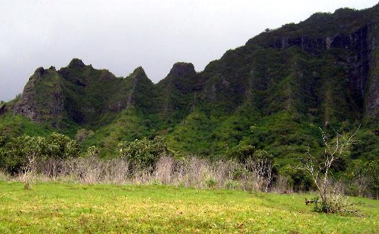 Kualoa: View of the Landscape