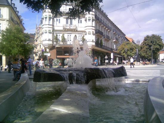 Friedrichsbad Römisch-Irisches Bad: バーデンバーデンの街