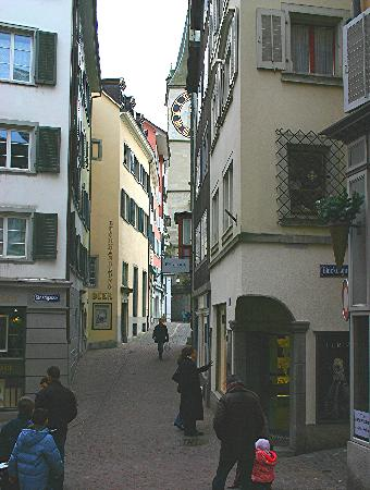 Zurich, Switzerland: old town