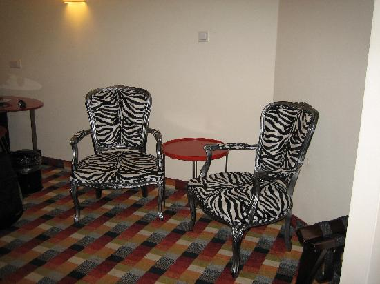 Harmony Hotel Jerusalem - an Atlas Boutique Hotel: chairs