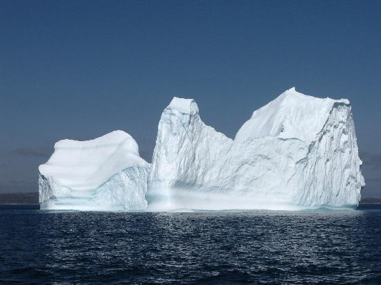 Northland Discovery Boat Tours: One of many icebergs we saw on our cruise