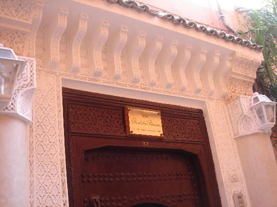 Riad Palais des Princesses: Entrance