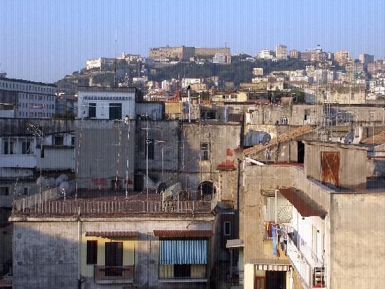 La colline de Vomero vue du B & B Cerasiello