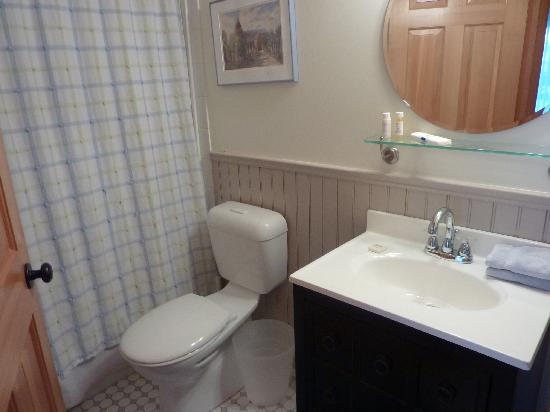 The Poplar Inn: The sparkling clean bathroom