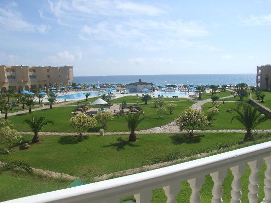 Cap-Bon Kelibia Beach Hotel & Spa: VISTA DAL MIO BALCONE