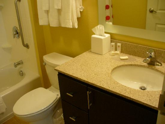 TownePlace Suites Laconia Gilford : Studio King Bathroom Sink